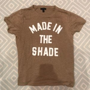 J. Crew Made in the Shade Tee